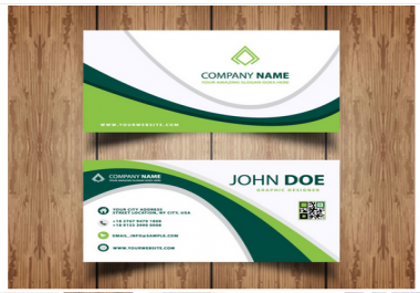 create new business card with professionally
