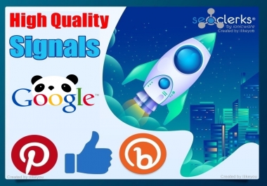 Top 3 Social Media 5200 SEO Social Signals / Backlinks / Bookmarks - Help to rank your website or Video In Google First Page