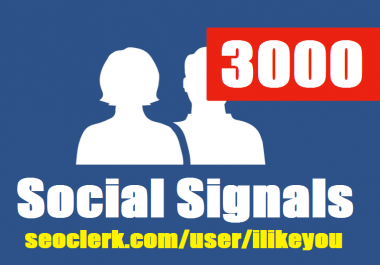 Boost Social Activity With 3000 PR10 SEO Social Signals Share Increase Website Ranking Top On Google