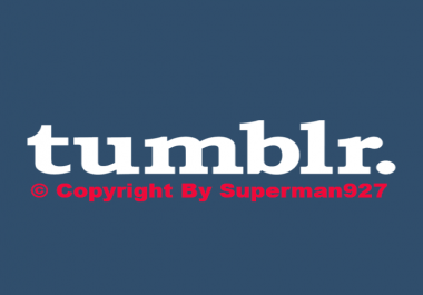 Super fast 220+ Tumblr Followers First time on Seoclerk