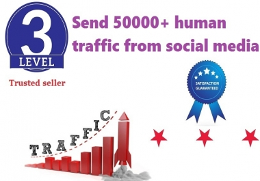Send 50000+ Human Traffic by Google Yahoo Youtube etc