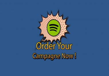 Playlist campaign for your spotify track