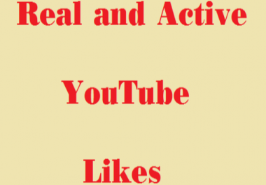 Get 1500+ Real and active YouTube video Likes or 630+ subscribers