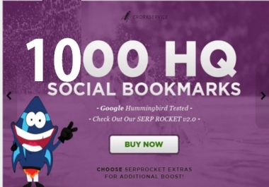 add your site to 1000 SEO social bookmarks high quality backlinks, rss, ping