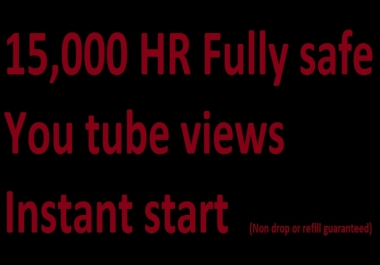 Buy 15k Youtube views 90% retention Fully safe