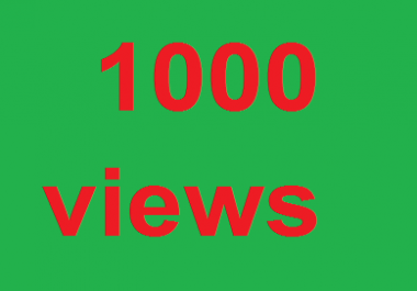 1000 YouTube  very fast     complete and non drop