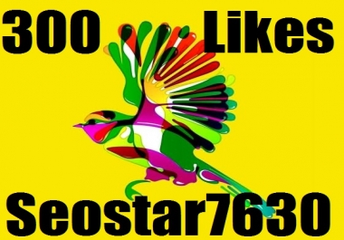 Add 300+ YouTube Video Likes OR 30 Custome Comments Only