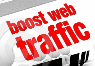 Get 100000 or 100k Genuine Organic Human Traffic To Your Website