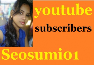 500 real active and permanent youtube subscriber from usa, uk geramany france italy and other enlish