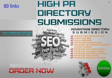 80 high pr8 to pr1 web directory submission do follow