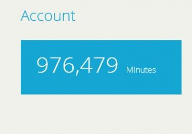 976k+ Minutes Hitleap Account for