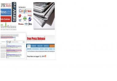 do Press Release Submission to 10 sites