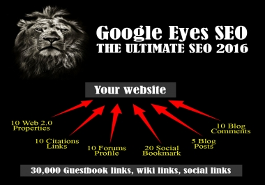 Google Eyes SEO 2018: Ultimate SEO Package to BOOST Your Ranking
