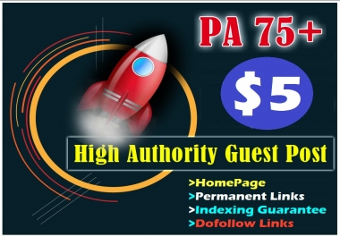 15 Manual PA 75+ HomePage High Quality Dofollow PBN Backlinks