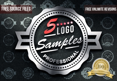 I will do a 5 PROFESSIONAL logo samples with free jpg, psd, ai, and unlimited revisions