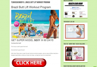 Advertise Your Fitness and Weight Loss Product or Site