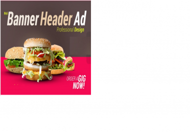 design a Professional web banner,header,ad,cover