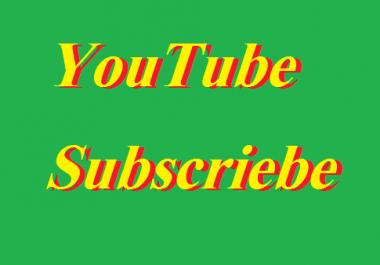 Add 100+ YouTube Subsciber very  non dorp