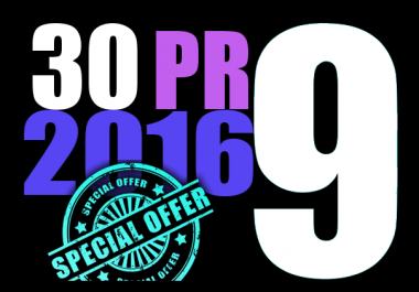skyrocket your Google Rankings with 30 PR9 High Pr Seo Social Backlinks