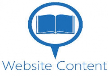 write Complete WEBSITE Content