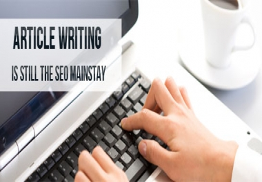 I will provide you 5 UNIQUE 350 plus Word High Quality Articles