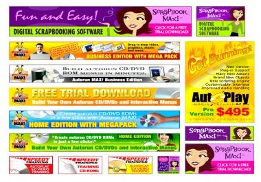 design a clean site BANNER or header for your website or blog