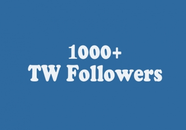 Add Instant 1000 Stable TW Followers