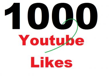 1000 Superfast Youtube Likes