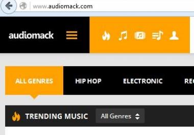 audiomack 1,000 follower
