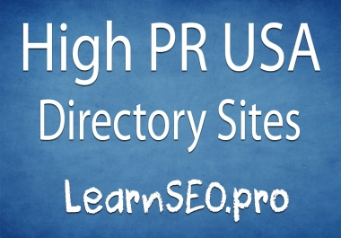I will usa web directory submission high quality 40