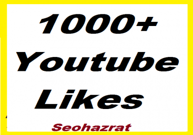 Safe 1000+ YouTube Likes non drop complete in 24-48 Hours