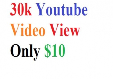 HQ 3,000 Or 3k Youtube Promotion Package Super Fast