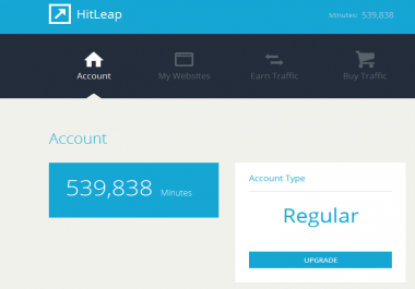 100k+ Minutes Hitleap Account for