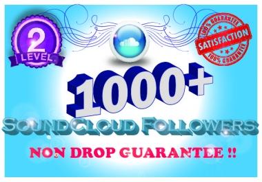 1000 Permanent Soundcloud Followers Guarantee