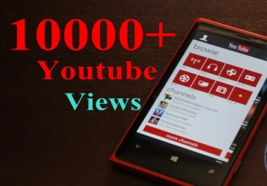 ****20,000 genuine & non drop YouTube Views for as low as