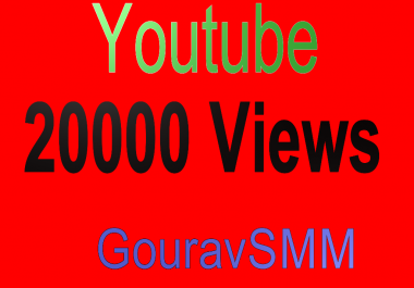 Safe HQ 20000 Youtube Views Very Fast