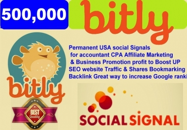 500,000 Permanent USA social Signals for accountant CPA Affiliate Marketing & Business Promotion profit to Boost UP SEO website Traffic & Shares Bookmarking Backlink Great way to increase Google rank