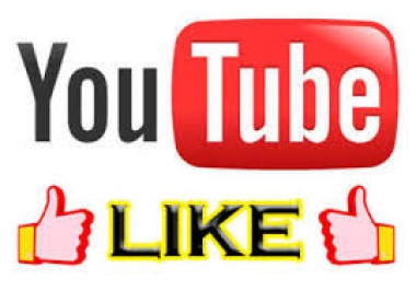 Add Real 222+ Youtube High Quality likes in 0-24 hours