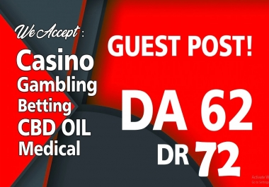 Casino Related Guest Post on my DA/PA 62 DR 72 General Blog