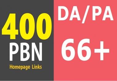 400 High Quality DA 30+ PA 60+ CF 30+ TF 30+ PBN Links