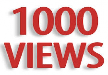 Instantly 1000-1500 SUPER FAST High Retention youtube views