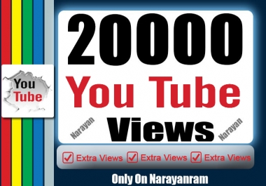 20000 + High-Quality YouTube Views Safe