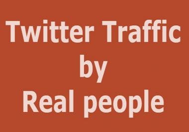 Organic Twitter Promotion Real Audience to Your Post