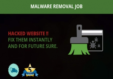Clean malware from your wordpress website or server