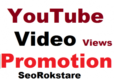 YouTube Video Promotion and Marketing Google Ranking