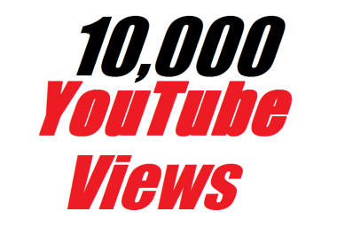 Add 10,000 YouTube Views In Your Video