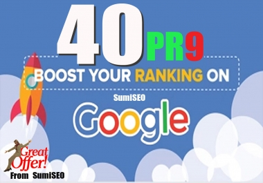 40 PR9-7 backlinks that are Panda Penguin and Hummingbird Safe