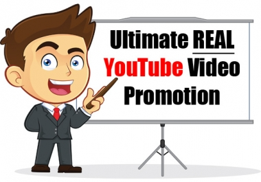 Ultimate REAL YouTube Video Promotion Service - BEST YouTube Promotion Service on SEOClerk!