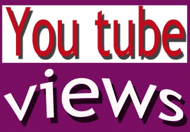 super fast high quality 5000 non drop you tube VEVO views