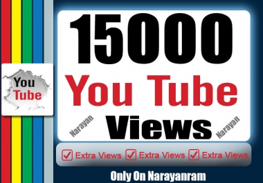 15000++ High Quality Views Fully safe with Ultra Speed